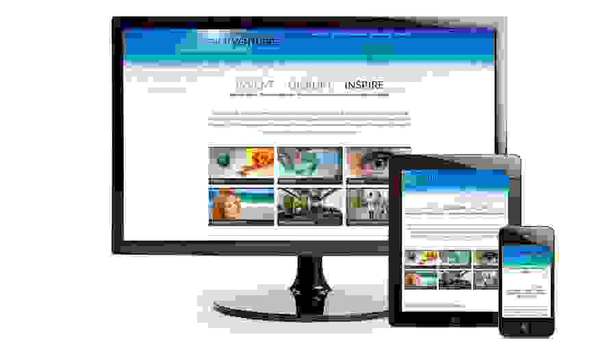 Media Responsive website design